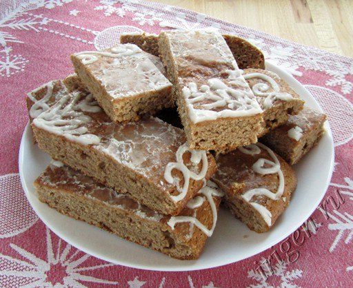 пряничный пирог фото