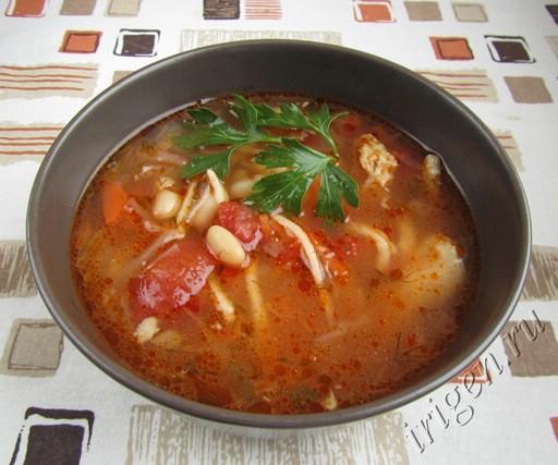 суп  куриный сборный фото