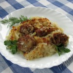 запеканка картофельная с мясным фаршем фото