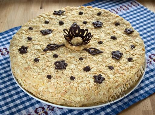 готовый торт наполеон фото