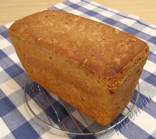 пшенично-ржаной хлеб фото