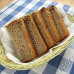 хлеб пшенично-ржаной постный фото
