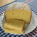 кекс лимонный в хлебопечке фото