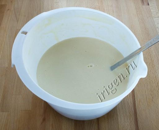 готовое тесто для блинов фото