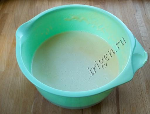 тесто после добавления газированной воды фото