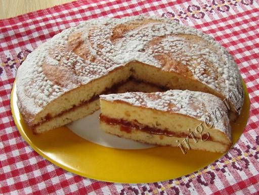 Пирог сладкий на майонезе с фото
