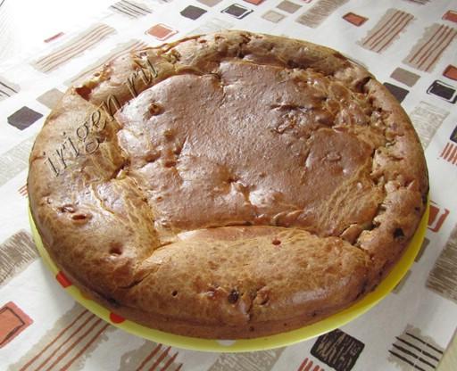 пирог с капустой готовый фото