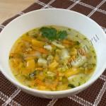 суп картофельный с репой фото