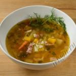 суп с беконом и репой фото