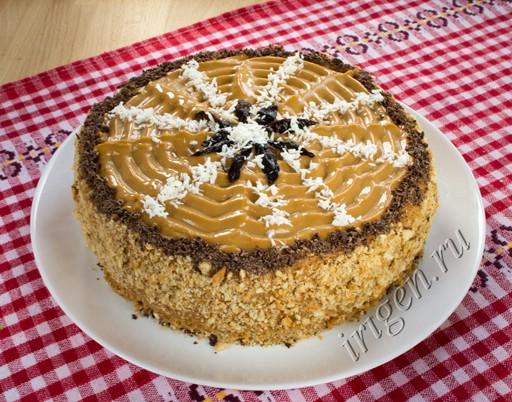торт бисквитный из мультиварки фото