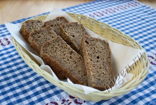 хлеб пшенично-ржаной на сыворотке с солодом фото
