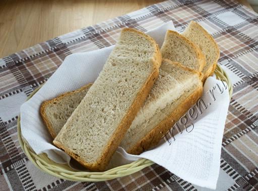 хлеб пшенично-ржаной на сыворотке фото