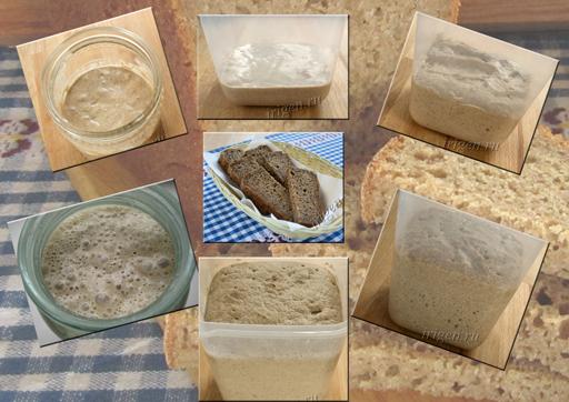 хранение и восстановление закваски для хлеба фото