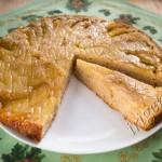 яблочный пирог-перевертыш фото