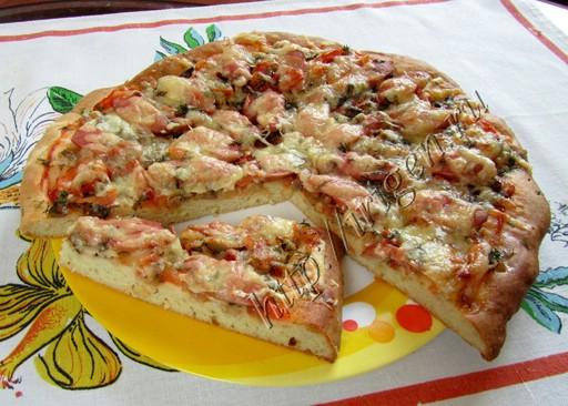 тесто для пиццы на кефире фото