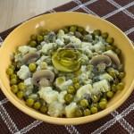 Постный картофельный салат