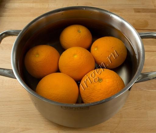 апельсины в кастрюле фото