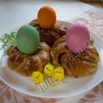 Пасхальные булочки фото