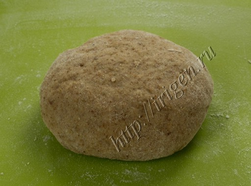 льняное тесто