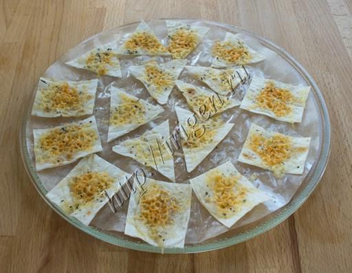 чипсы с сыром