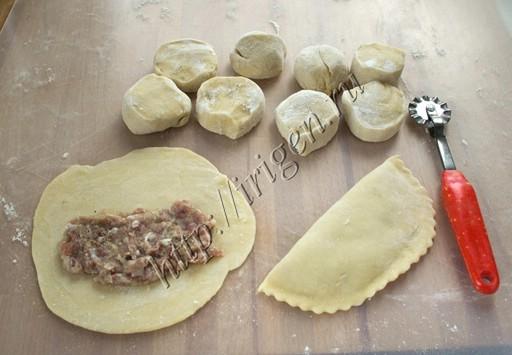 приготовление сухих чебуреков янтыков
