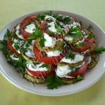 закуска из кабачков и помидоров