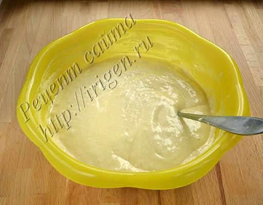 бисквитная смесь с белками