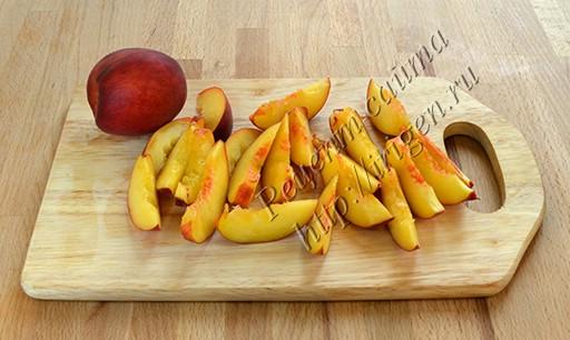 подготовка персиков