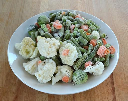 мороженые овощи