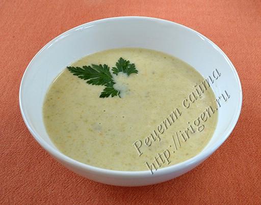 суп-пюре-овощной