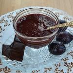джем сливовый с шоколадом
