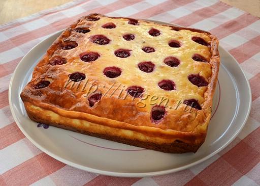пирог в квадратной форме
