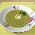 суп-пюре овощной со сливками