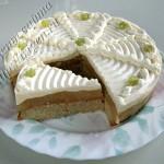 торт грушевый со сливками