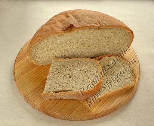 хлеб серый в духовке