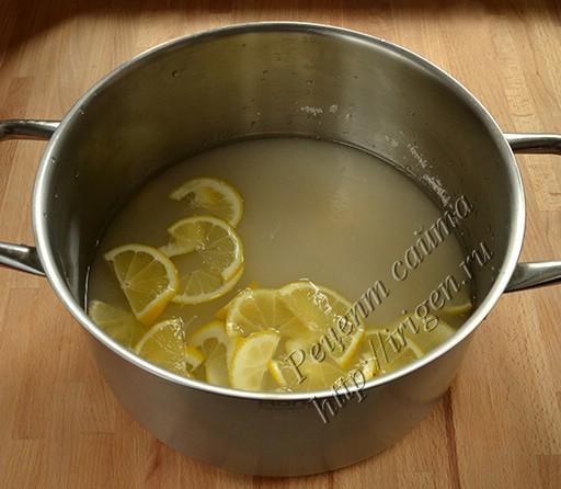 сахарный сироп с лимоном