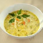 сырный овощной суп