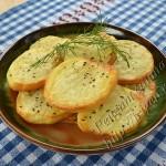 картофель на решетке в духовке