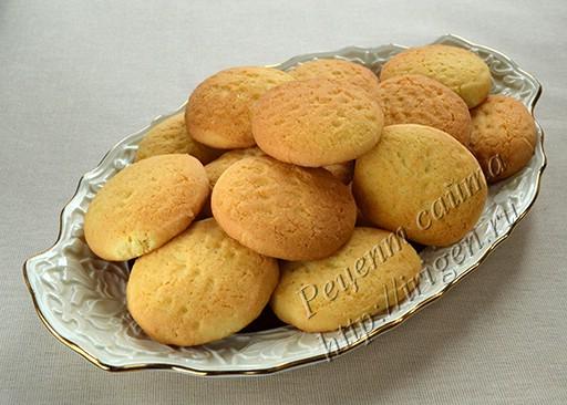 печенье с рисовой и кукурузной мукой