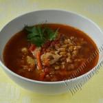 чечевичный суп с паприкой в мультиварке