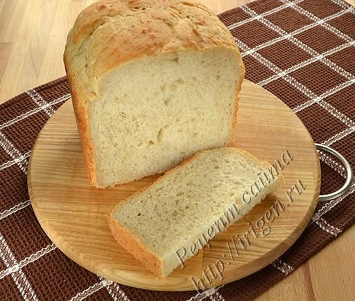 хлеб на пиве и кефире с геркулесом