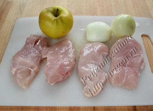 подготовка куриного филе