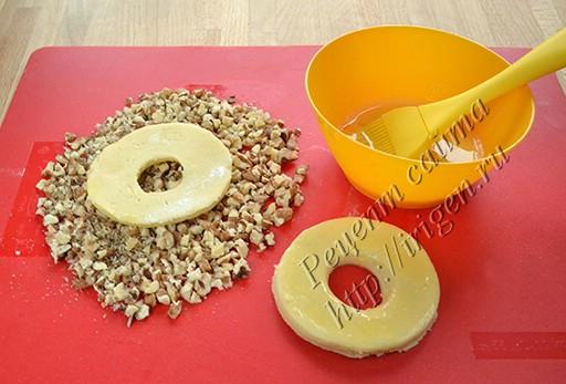 кольца с орехами