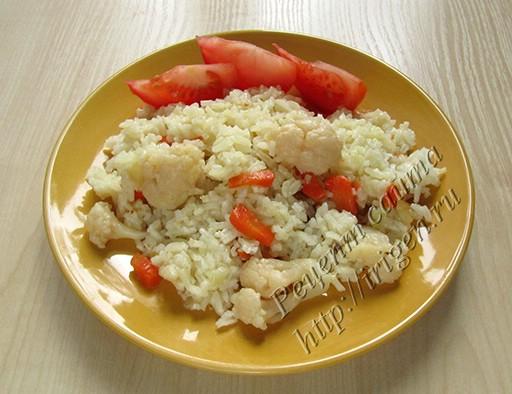 цветная капуста с рисом