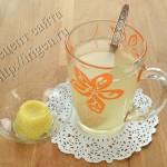 замороженный имбирь с лимоном