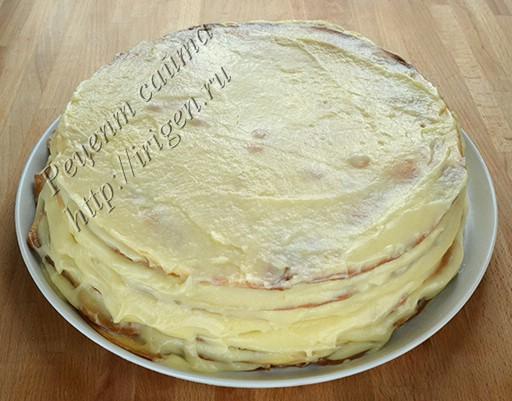 торт после оседания
