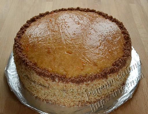 подготовка торта под глазурь