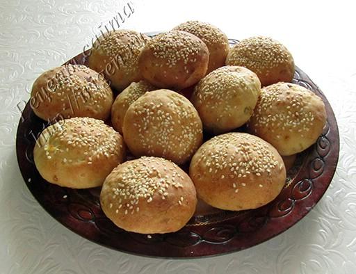 булочки постные картофельные
