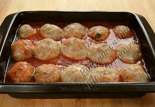 тефтели в томатном соке