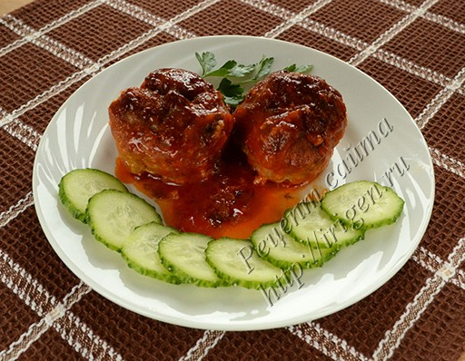 тефтели с манкой в томатном соусе